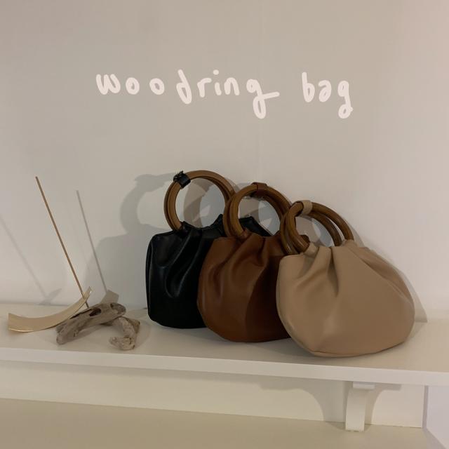 누보 - woodring bag. ( 3 color )