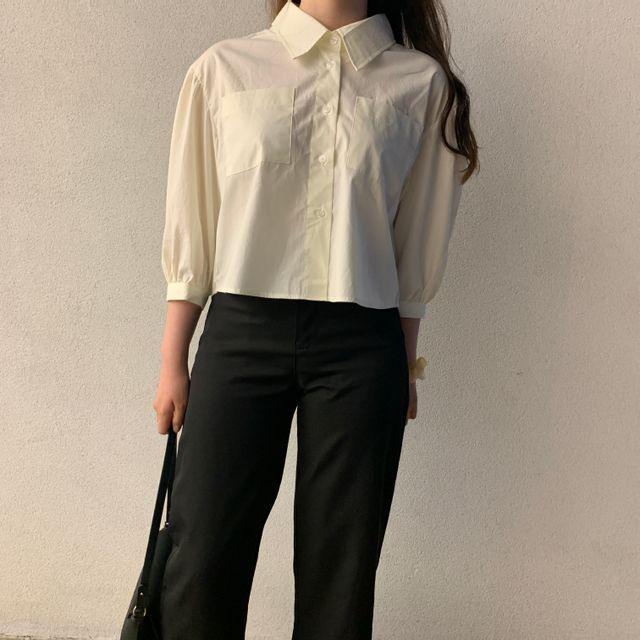 moon__wear - 모먼트 인 러브 숏 셔츠