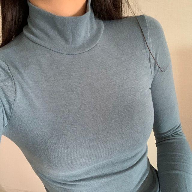 서하룸 - [서하룸] 워머 반폴라 티셔츠