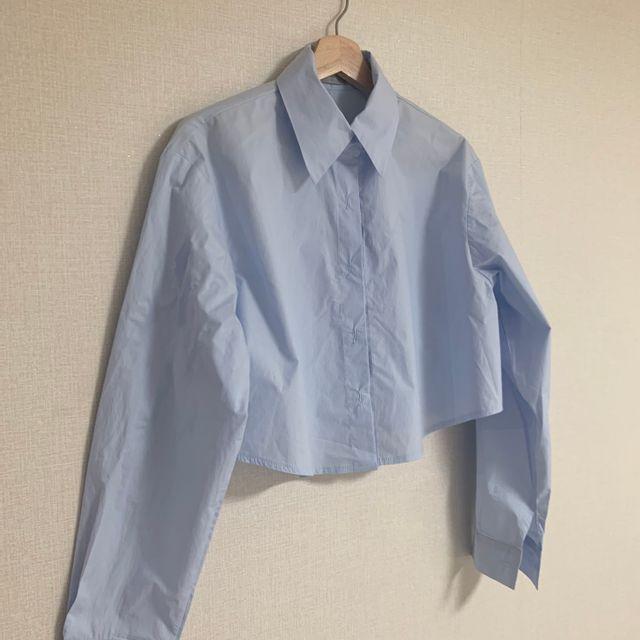 서하룸 - [서하룸] 바스락 크롭 셔츠