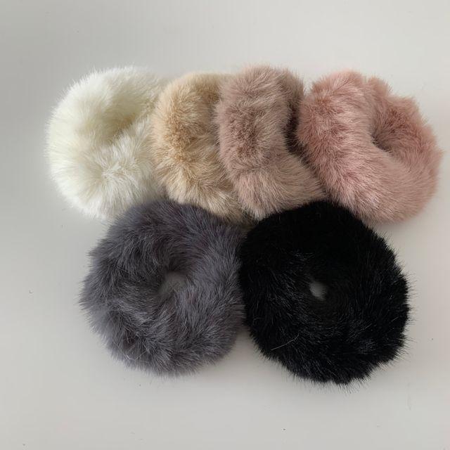 시에르 - 밍크 퍼 머리끈 (7 color)
