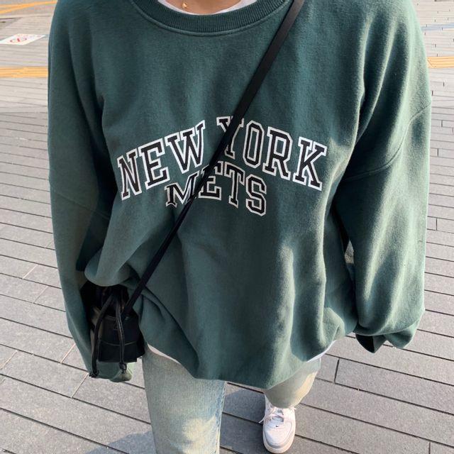 페이지엔 - [신상라이브] 빈티지 뉴욕 맨투맨 2c