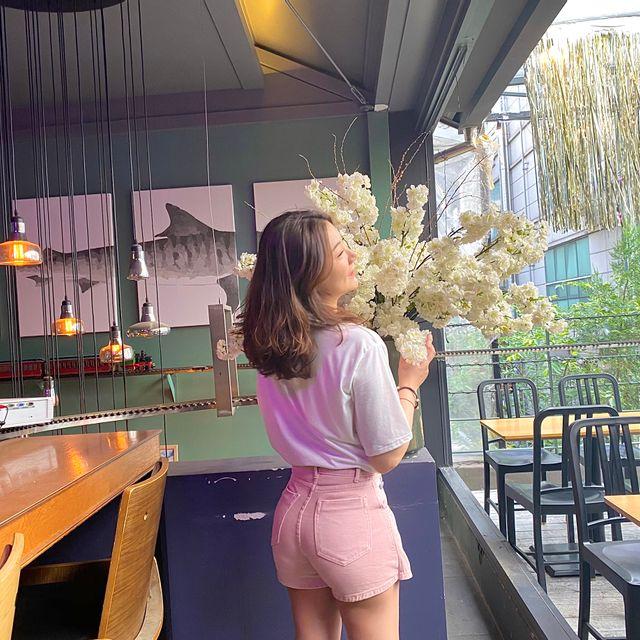 보다보니 - 레인보우 치마 바지